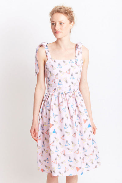 MIGLE+ME CABRA SUMMER DRESS Pink