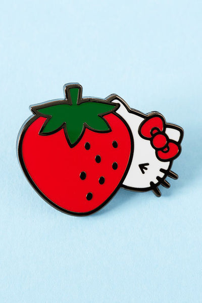 HELLO KITTY CHEEKY STRAWBERRY Pin