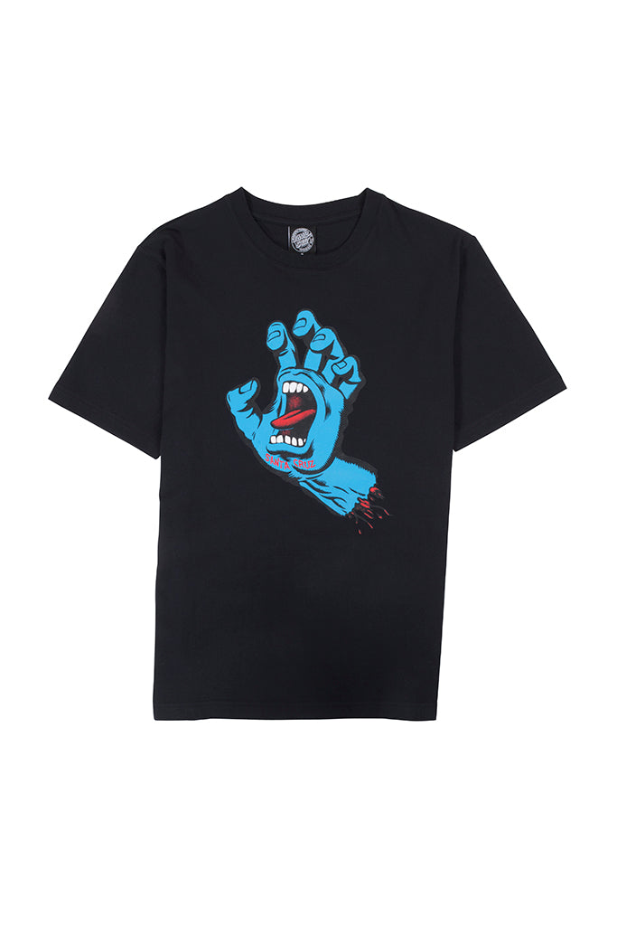 SANTA CRUZ SCREAMING HAND WOMEN TEE Black