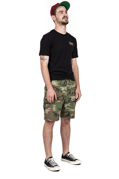 BRIXTON TRANSPORT 20 CARGO SHORT Multi Camo
