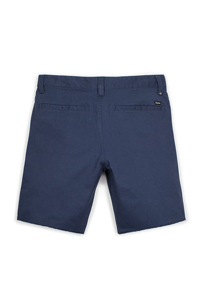 BRIXTON TOIL II SHORT Washed Navy