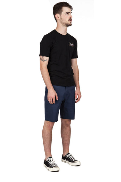Bermudas Hombre BRIXTON TOIL II MEN SHORT Washed Navy