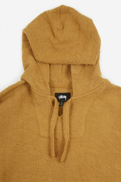 STUSSY ARIES PONCHO DRESS Camel