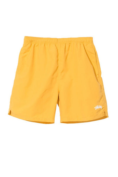 STUSSY STOCK MEN WATER SHORT Yellow