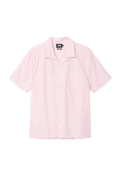 STUSSY OPEN COLLAR MEN SHIRT Pink