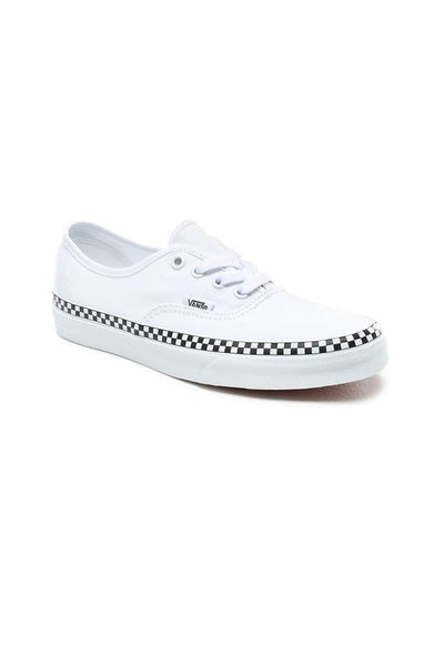 VANS AUTHENTIC (CHECK FOXING) True White