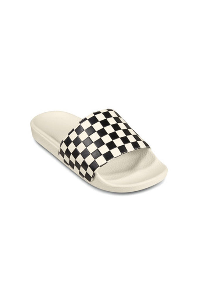 Chanclas VANS SLIDE ON (Checkerboard) White / Black