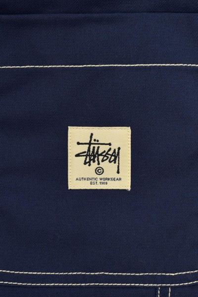 STUSSY POLY COTTON MEN WORK PANT Navy