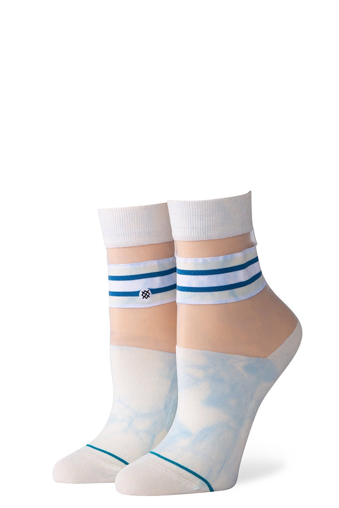 Calcetines Mujer STANCE JOAN QTR White