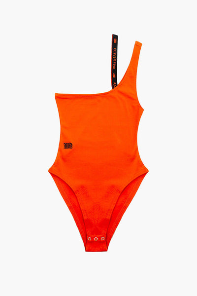 Body Mujer WASTED PARIS ASYMETRIC BODY TOP Orange