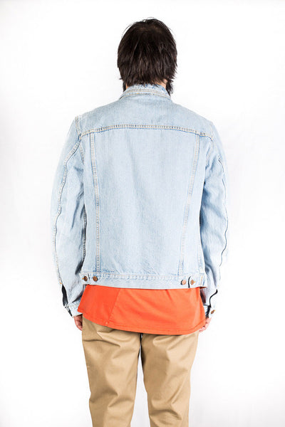 NUDIE JEANS BILLY DENIM JACKET Strumming indigo