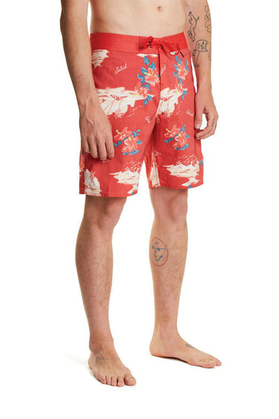 Bañador Hombre BRIXTON BARGE MEN TRUNK Red / Cream
