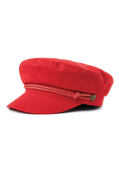 BRIXTON ASHLAND CAP Red
