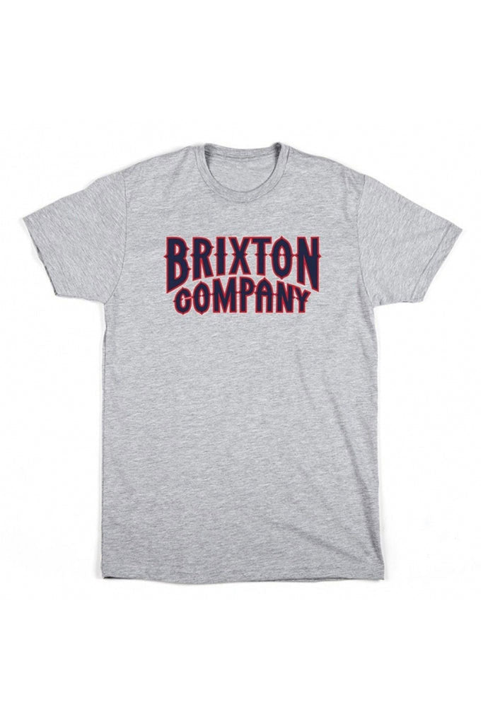 Camiseta Hombre BRIXTON BAILEY S/S STND MEN TEE Heather Grey