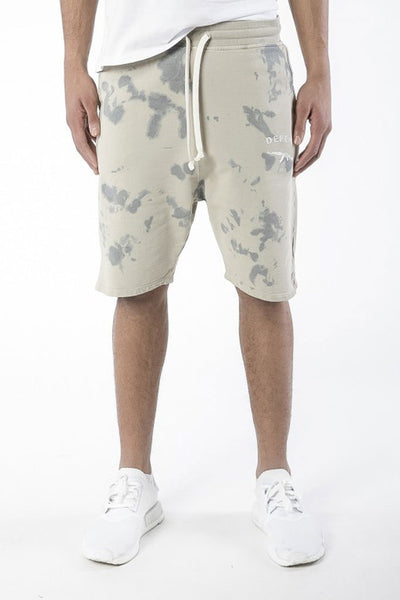 DEFEND BARRI SHORT Tie Dye Beige
