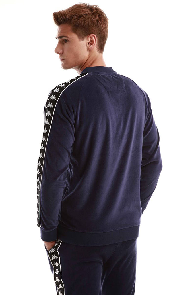 KAPPA AUTHENTIC BENETTI MEN JACKET Blue Greystone / Black