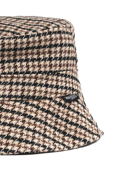 Sombrero Unisex WASTED PARIS BOB BUCKET Hounstooth