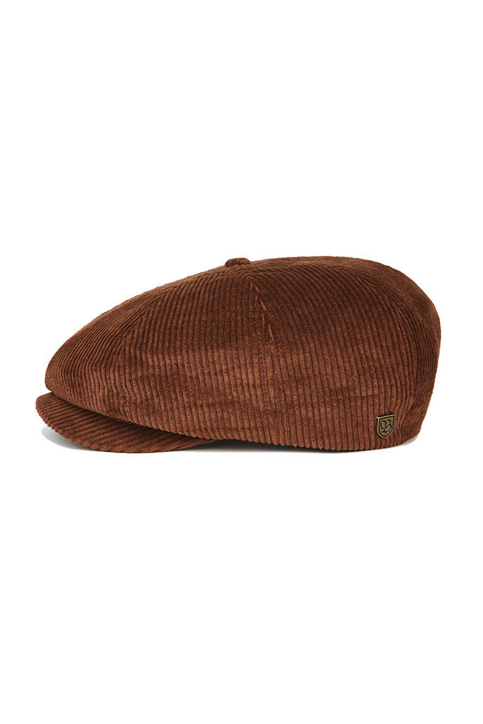 Gorra Unisex BRIXTON BROOD SNAP CAP Brown Cord