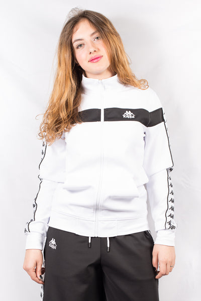 Sudadera Mujer KAPPA ANDIL AUTHENTIC WOMEN JACKET White / Black