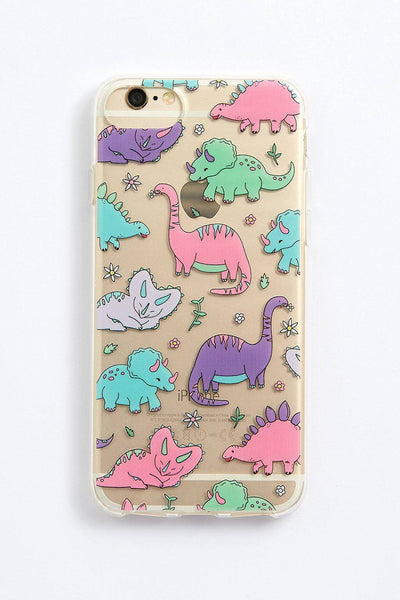PUNKY PINS KAWAII PASTEL DINOSAUR PHONE CASE