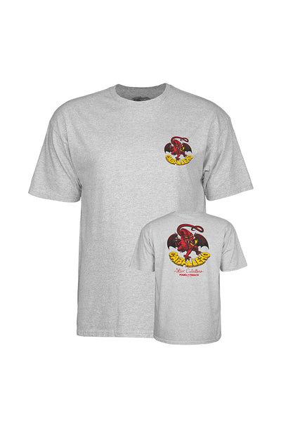 POWELL PERALTA STEVE CABALLERO DRAGON II TEE Grey Heather