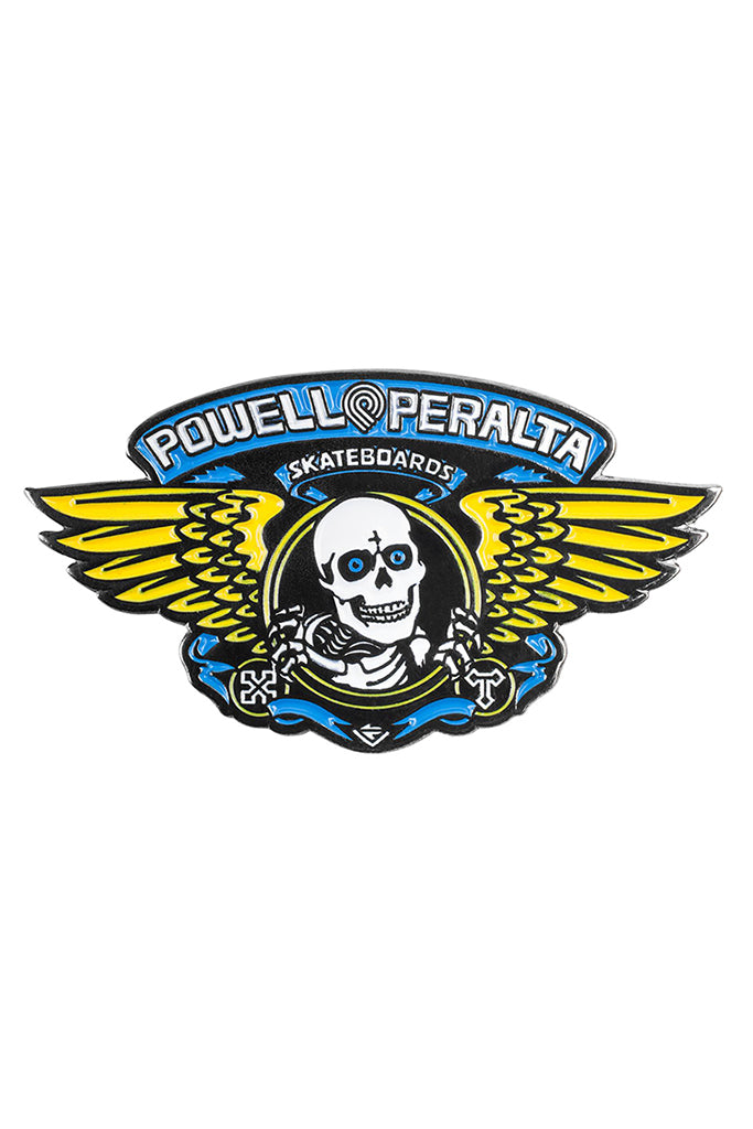 Pin POWELL PERALTA WINGED RIPPER Blue
