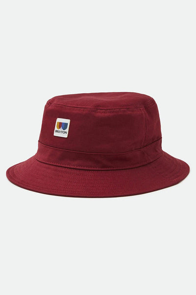 Sombrero Unisex BRIXTON ALTON PACKABLE BUCKET HAT Cowhide
