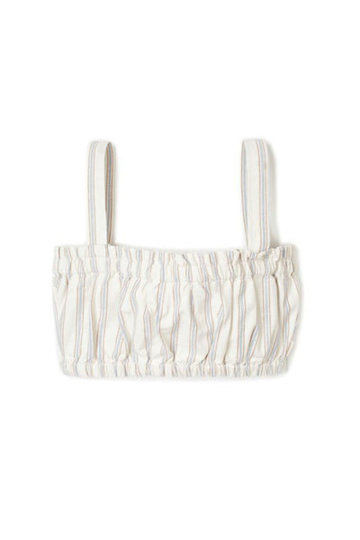 BRIXTON SAN JOSE BANDEAU WOMEN TOP Off White