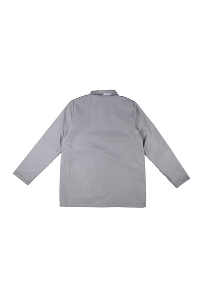SANTA CRUZ WALL HAND WOMEN REVERSIBLE JACKET Silver