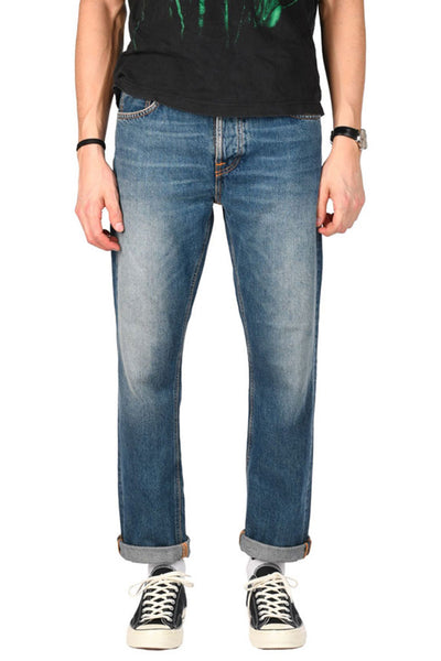 NUDIE JEANS SLEEPY SIXTEEN Celestial Orange