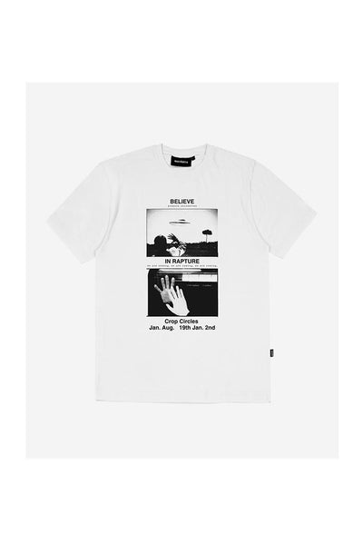 WASTED PARIS BELIEVE UNISEX TEE White