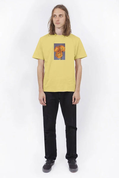 Camiseta Hombre WASTED PARIS AS A DREAM MEN TEE Yellow