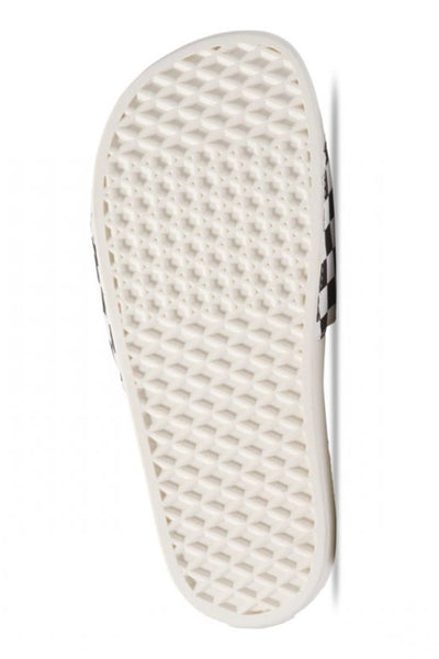 VANS SLIDE ON (Checkerboard) White / Black