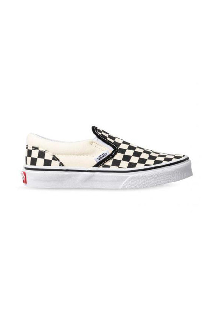 VANS SLIP ON KIDS Checkerboard Black / White ( Tallaje;27-35)