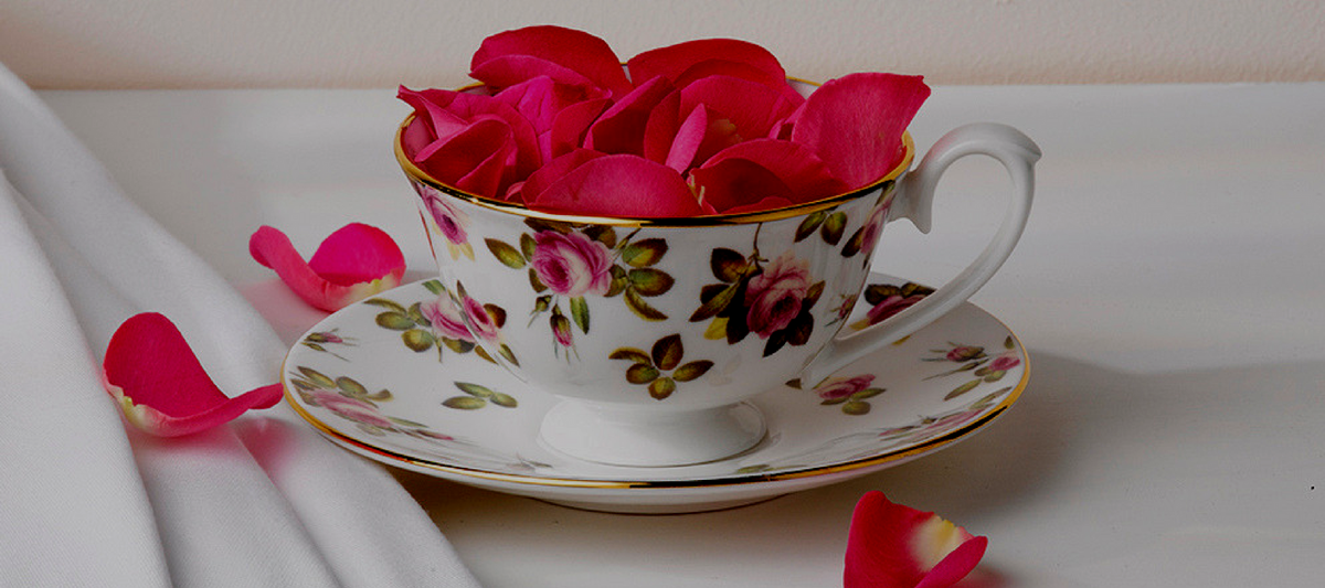 Hudson & Middleton's Rose Garden Cup and Saucer