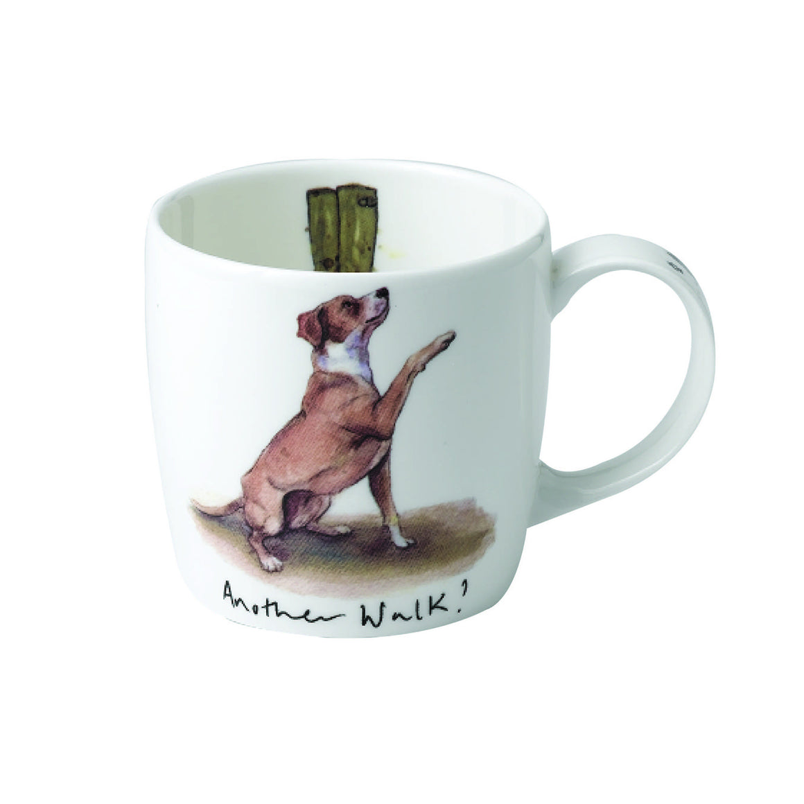 Katherine Tyrer 'Another Walk' fine bone china york mug