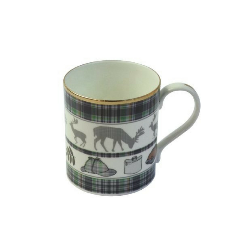 Country Pursuits 'Hat/Stag' fine bone china mug