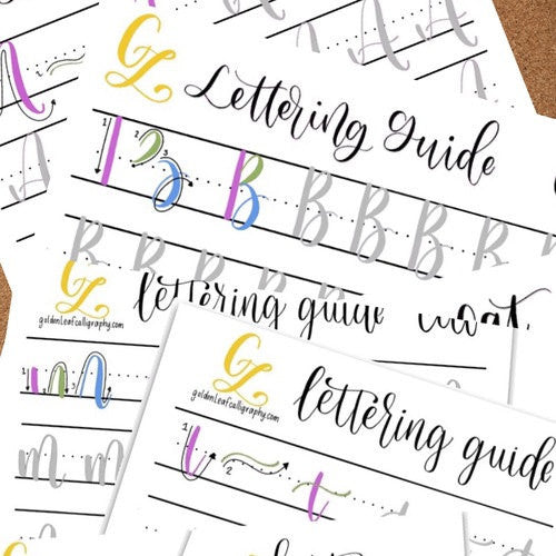 """Cat"" lettering tutorial - uppercase/lowercase"