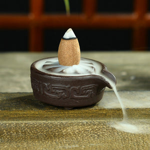 Mini lotus Backflow Incense Burner