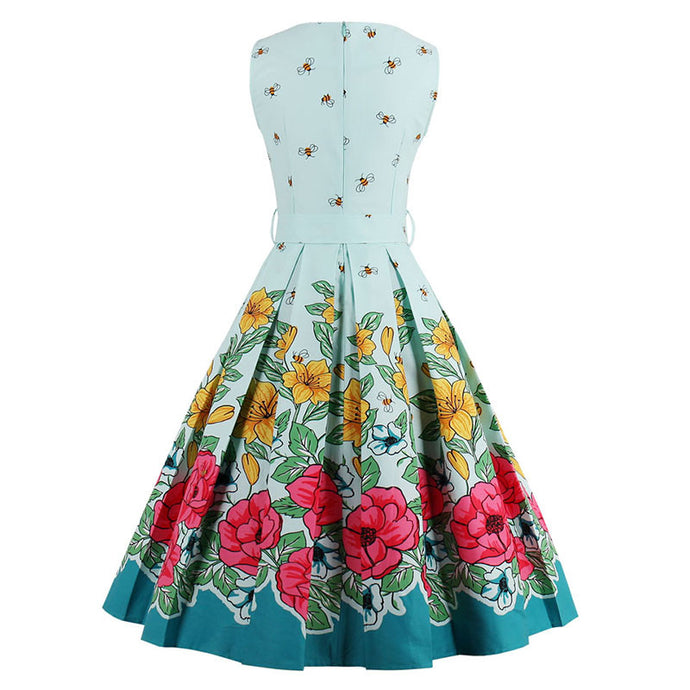 Wonderbee Vintage Dress