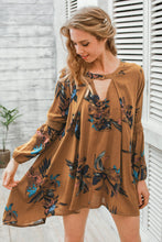 Casual Lantern Sleeve Dress