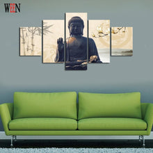 5 Piece Buddha Canvas Art