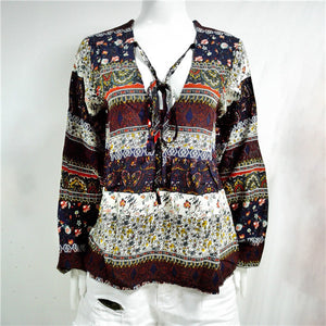 Heretic Boho Casual Blouse