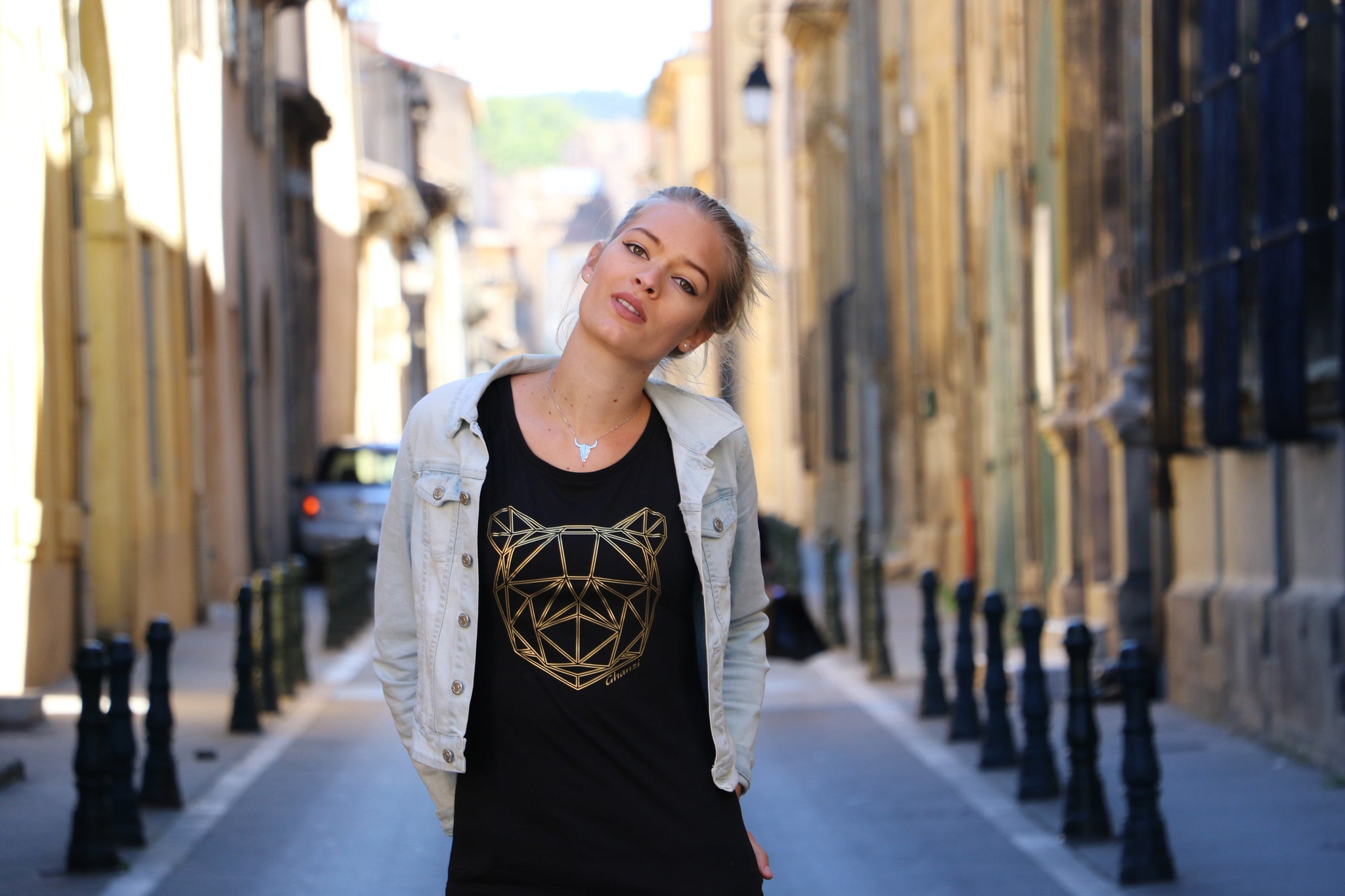 GHANZI Brand Team french model Blandine Reynaud, Delight collection, Aix en Provence