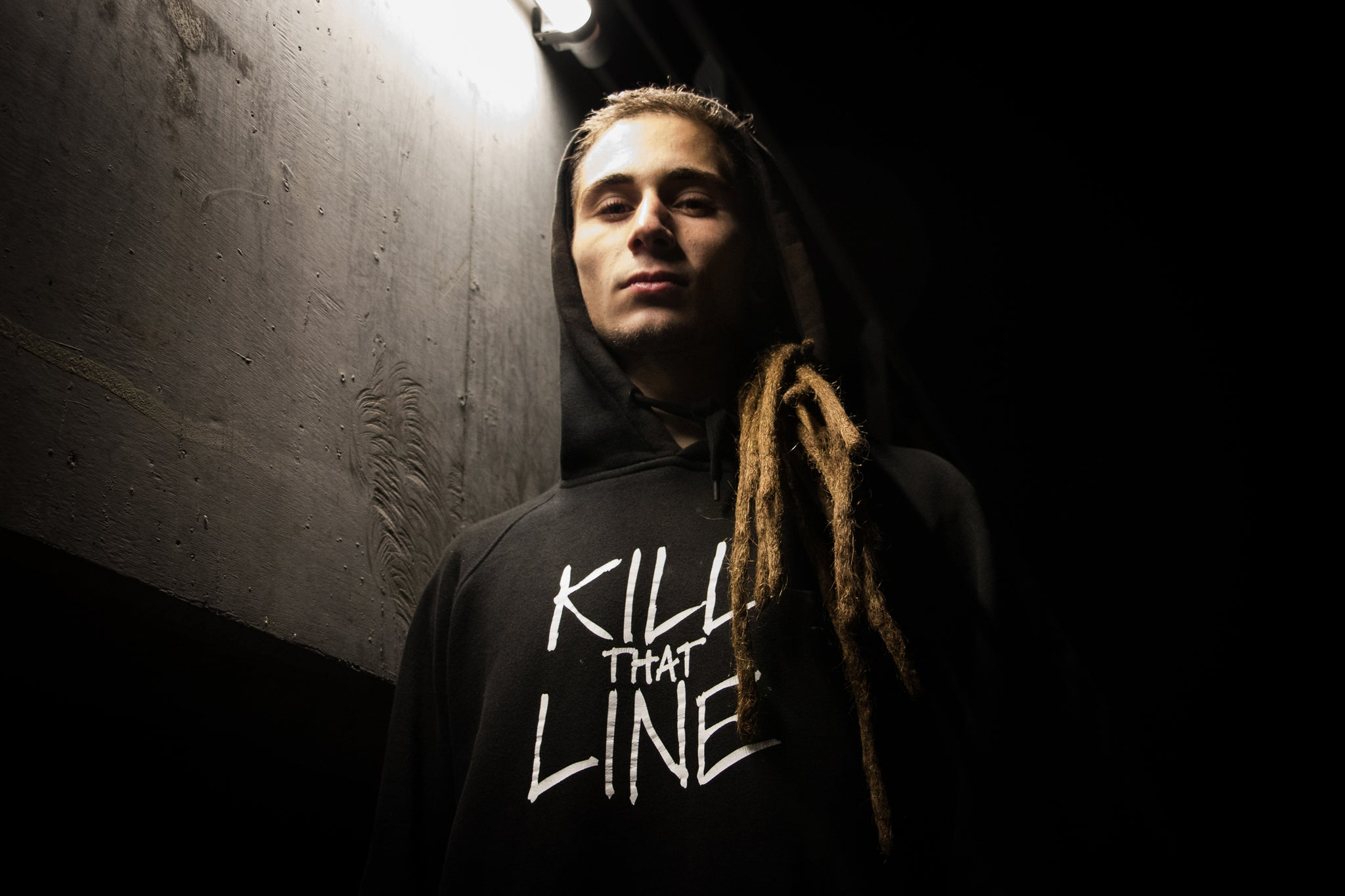 Remi Fargier, Kill That Line, Black Hoody, Offshoot, Skateboarding, Ghanzi Brand,