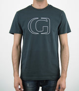 CONTOUR - GHANZI Men Organic Cotton t-shirt - Grey