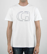 CONTOUR - GHANZI Men Organic Cotton t-shirt - White