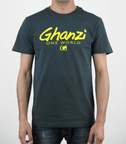 GOW - GHANZI MEN T-SHIRT - Organic cotton - dark grey