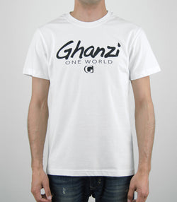 GOW - GHANZI MEN T-SHIRT - Organic cotton - White