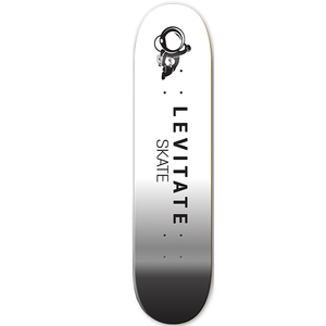 Skateboard Deck - Levitate Skate black and white, Skateboards - Levitate Skate